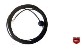 Fitness equipment wire rope repair kit